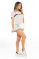 T-shirt Dress com Listra 3