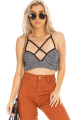 Top Cropped Stripes