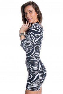 Vestido Animal Print 4