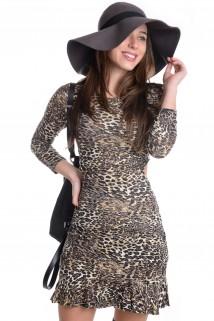 Vestido Costa Aberta
