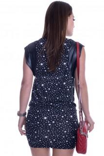 Vestido Curto Estrelado 2