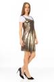 Vestido de Alcinha Metalizado 3