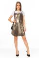 Vestido de Alcinha Metalizado 5