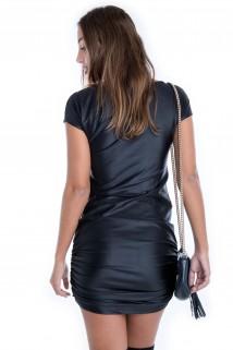 Vestido de Cirre Drapeado 2