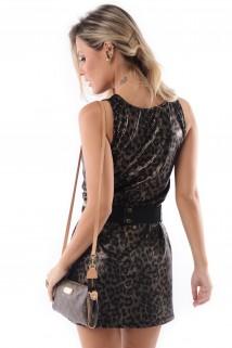 Vestido de Lycra com Tule 3