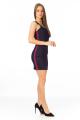Vestido Estruturado com Faixa Lateral 3