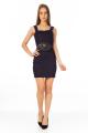 Vestido Estruturado com Faixa Lateral 5