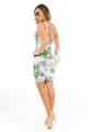 Vestido Floral com Detalhe no Decote 4