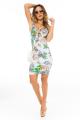 Vestido Floral com Detalhe no Decote 5