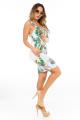 Vestido Floral com Detalhe no Decote 3