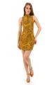Vestido Jacquard com Gola Alta e Zíper 5