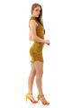 Vestido Jacquard com Gola Alta e Zíper 3