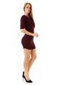 Vestido Jacquard com Ilhós no Decote 3