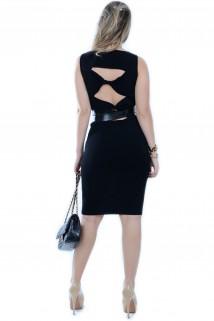 Vestido Midi com Recortes 2