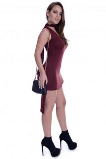Vestido Mullet com Gola 4