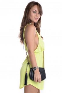 Vestido Neon com Bolso 3