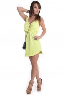Vestido Neon com Bolso 4