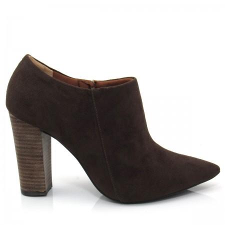 Bota Ankle Boot Feminina Cano Curto Cecconello 951004