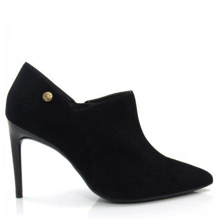 Bota Ankle Boot Feminino Vizzano 1344101 Bico Fino