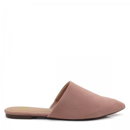 Mule Feminino Bico Fino Olfer Shoes 13511-04 Liso