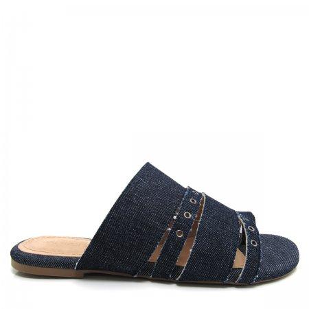 Rasteira Feminina Jeans Santa Flor 111003