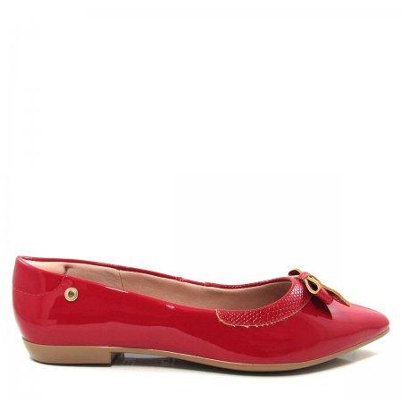 Sapatilha Bico Fino Feminina Olfer Shoes 1226-005 Laço