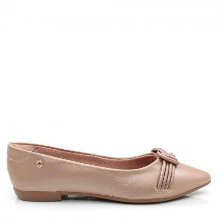 Sapatilha Bico Fino Feminina Olfer Shoes 1266-242 Conforto