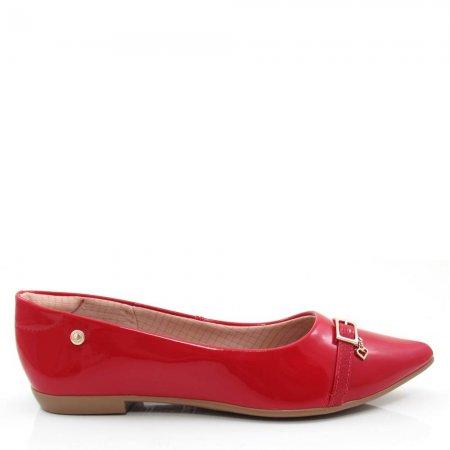 Sapatilha Bico Fino Feminina Olfer Shoes 1266-308 Conforto