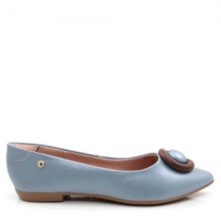 Sapatilha Bico Fino Feminina Olfer Shoes 1266-340 Conforto