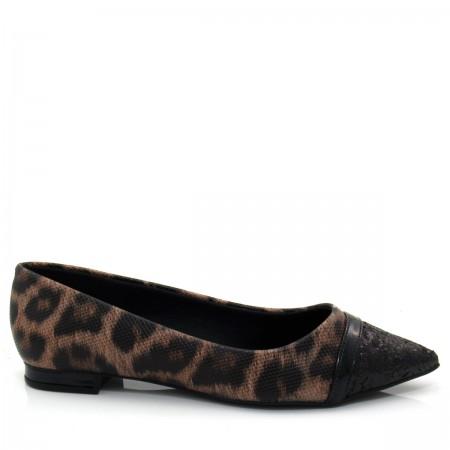 Sapatilha Feminina  Bico Fino Of Shoes 1516596