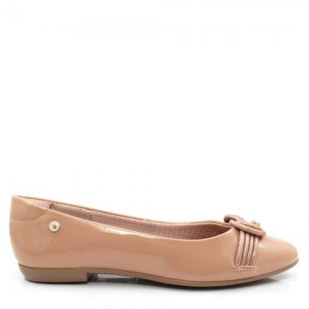 Sapatilha Feminina Bico Redondo Olfer Shoes 1408-002 Verniz