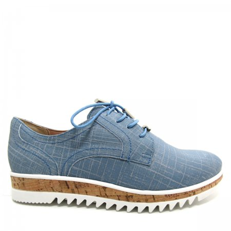 Sapato Feminino Oxford Casual Verofatto 6007101 Couro
