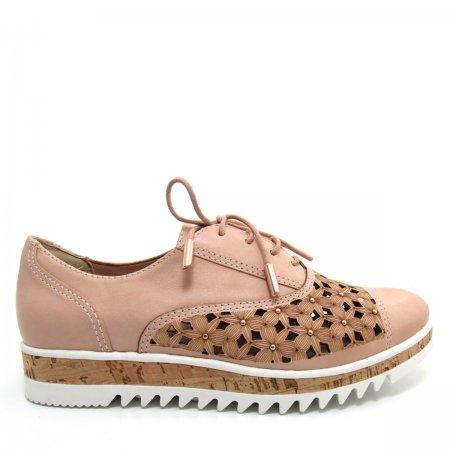 Sapato Feminino Oxford Casual Verofatto 6007102 Couro