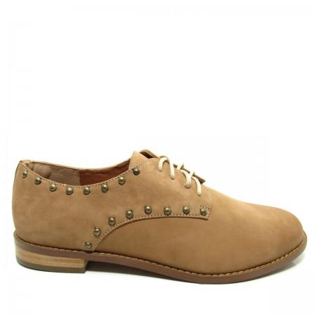 Sapato Feminino Oxford Santa Flor 804025 Couro