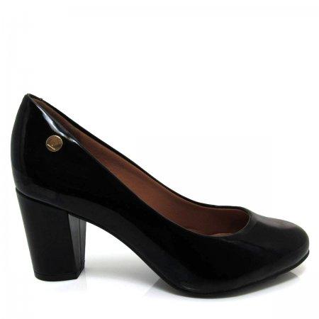 Sapato Feminino Scarpin Bico Redondo Salto Grosso 1259100