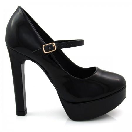 Sapato Feminino Scarpin Of Shoes 1556607