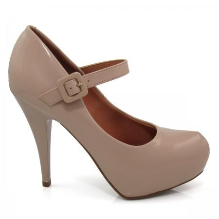 Sapato Feminino Scarpin Vizzano 1143304 Verniz