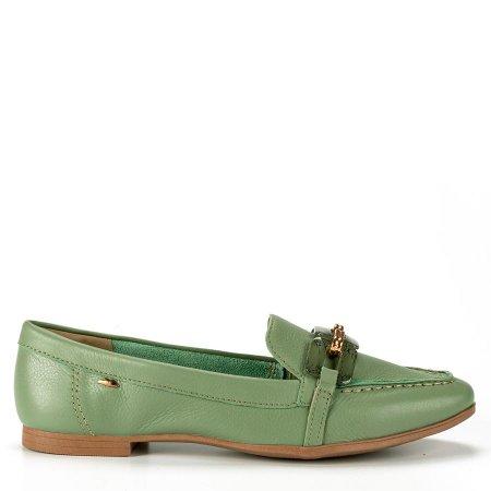 Sapato Mocassim Feminino Dakota G4112 em Couro Conforto