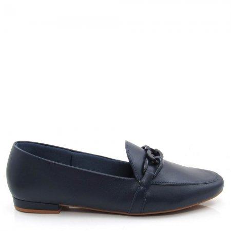 Sapato Mocassim Feminino Usaflex AC7702 em Couro Conforto
