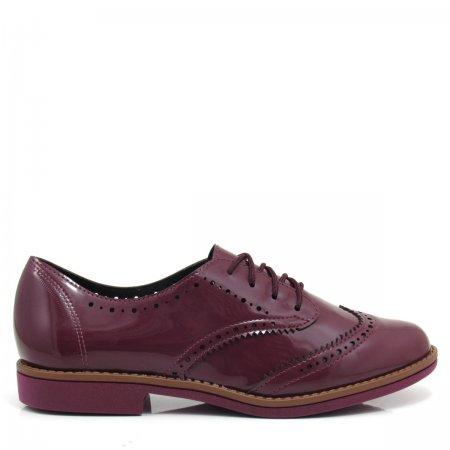 Sapato Oxford Feminino Tradicional Beira Rio 4170102 Verniz
