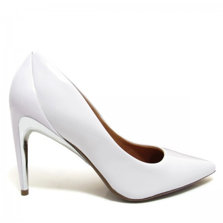 b14505e165 Sapato Scarpin Feminino Bico Fino Vizzano 1247100 Salto Fino Coleção ...