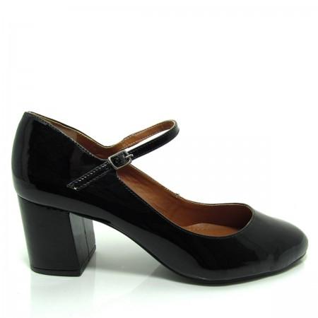 Sapato Scarpin Feminino Bico Redondo Santa Flor 312012