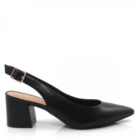 Sapato Scarpin Feminino Salto Grosso Giulia Domna 431.01