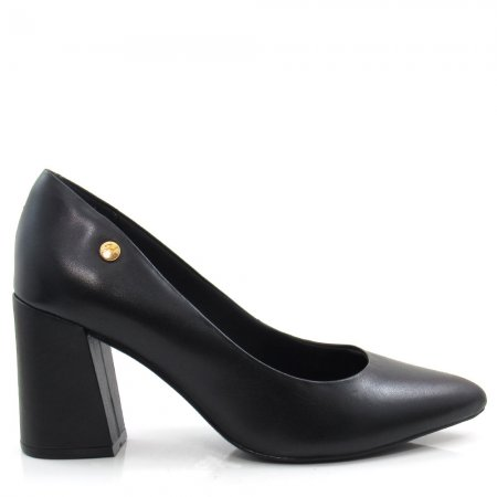 Sapato Scarpin Feminino Salto Grosso Giulia Domna 565.01