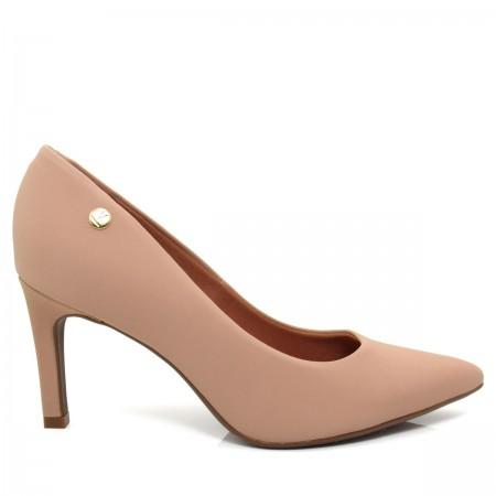 Sapato Scarpin Feminino Vizzano Bico fino  1232100 Nobuck glamour