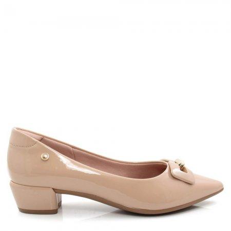 Sapato Scarpin Salto Baixo Feminino Olfer Shoes 1290-028
