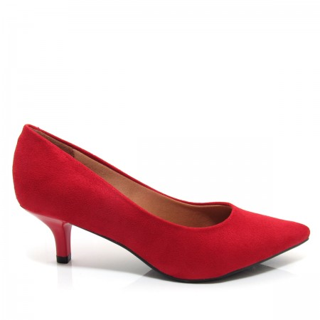 Sapato Scarpin feminino Salto Fino Vizzano 1122600 Salto Baixo