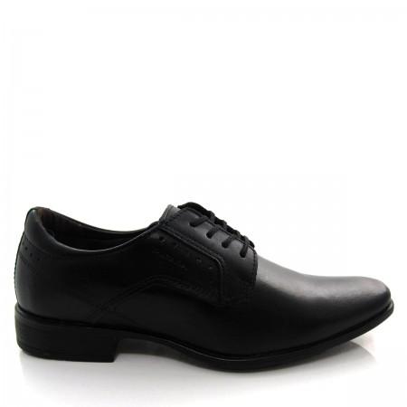 Sapato Social Masculino Pegada 22063 com Cadarço em Couro