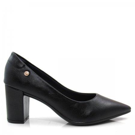 Scarpin Bico Fino Feminino Salto Grosso Olfer Shoes 1280-001