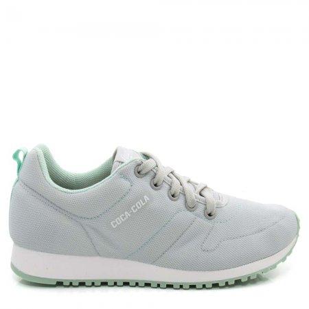 Tênis Com Cadarço Feminino Coca Cola Shoes CC1826 Fiore Leve